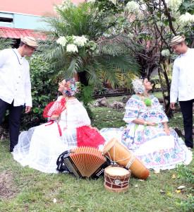 Grupo del Ballet Folclórico de la UTP Chiriquí