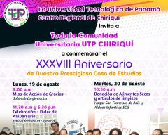 Actividades de Aniversario de la UTP