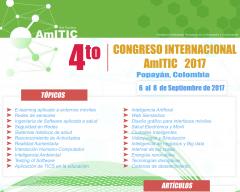 Cuarto Congreso Internacional AmITIC 2017